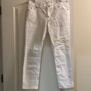 Vineyard Vines White Jeans